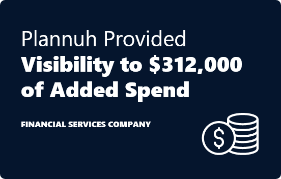 <span>Plannuh Delivers Immediate Payback</span>, Guaranteed